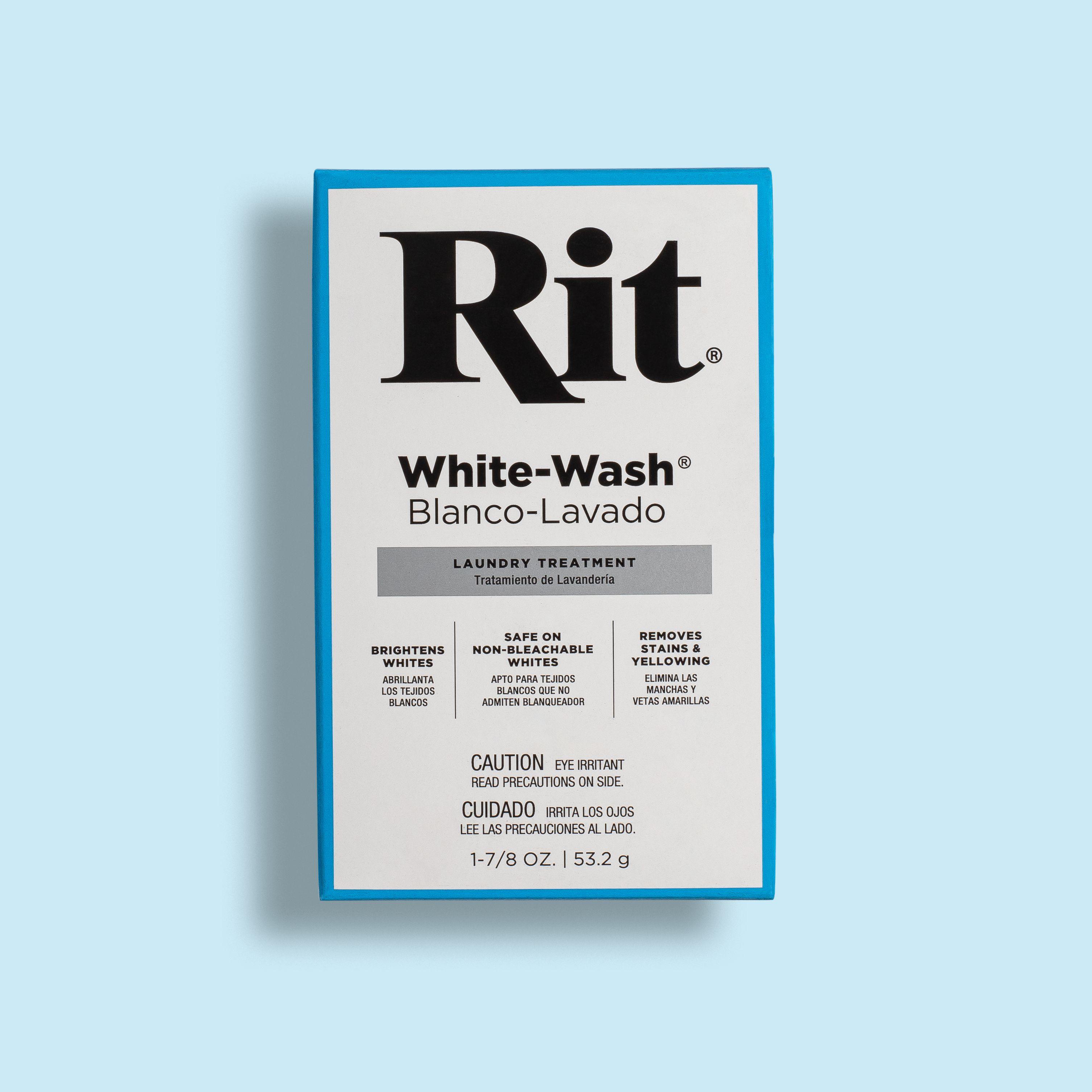 White Wash Rit Dyes